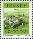 [Postage Due Stamps - Jersey Harbour, Typ Y]