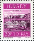 [Postage Due Stamps - Jersey Harbour, Typ Z]