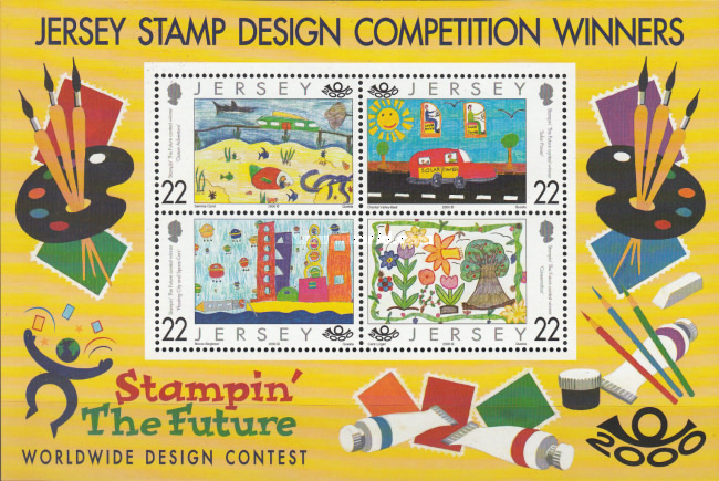 [Jersey Stamp Design Competition Winners - Stampin´ the Future, type ]