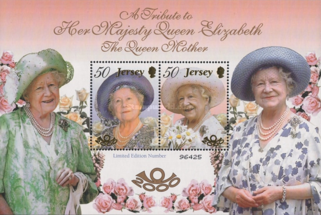 [The 100th Anniversary of the Birth of Mother Queen Elizabeth, 1900-2002, Typ ]