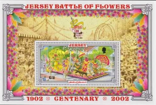 [The 100th Anniversary of the Battle of Flowers Festival, Typ ]