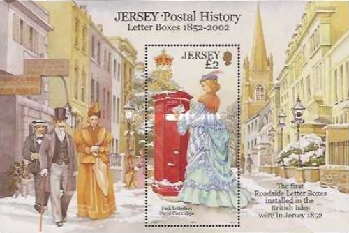 [Jersey - Postal History - Letter Boxes 1852 - 2002, Typ ]