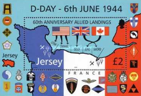 [The 60th Anniversary of the Allied Landings in Normandy - D-Day, 6th June 1944, Typ ]