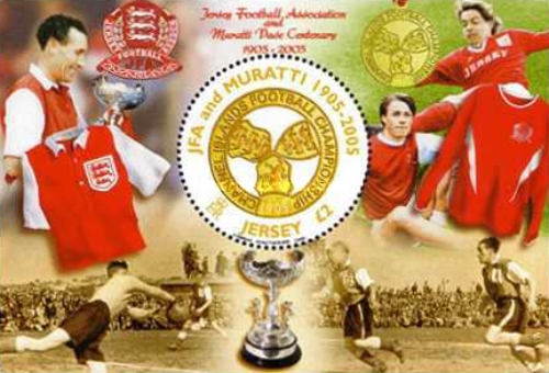 [The 100th Anniversary of Jersey Football Association, 1905-2005 - Channel Islands Football Championship, Typ ]
