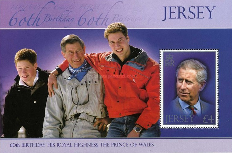 [The 60th Anniversary of the birth of Prince Charles, Typ ]