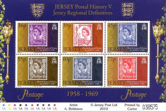 [Jersey Regional Definitives, type ]