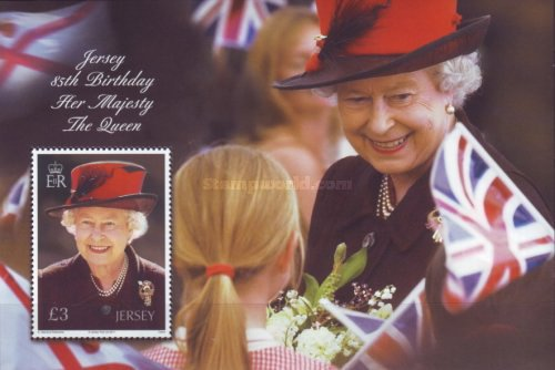 [The 85th Anniversary of the Birth of Queen Elizabeth II, Typ ]