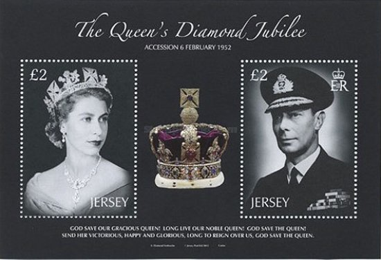 [The 60th Anniversary of the Accesion of Queen Elizabeth II - Without White Frame, type ]