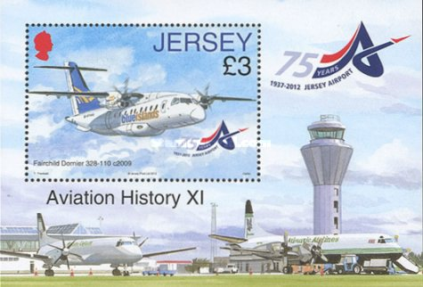 [Airplanes - The 75th Anniversary of Jersey Airport, type ]