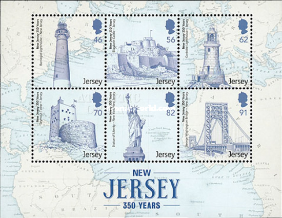 [The 350th Anniversary of the Founding of U.S. State of New Jersey, type ]