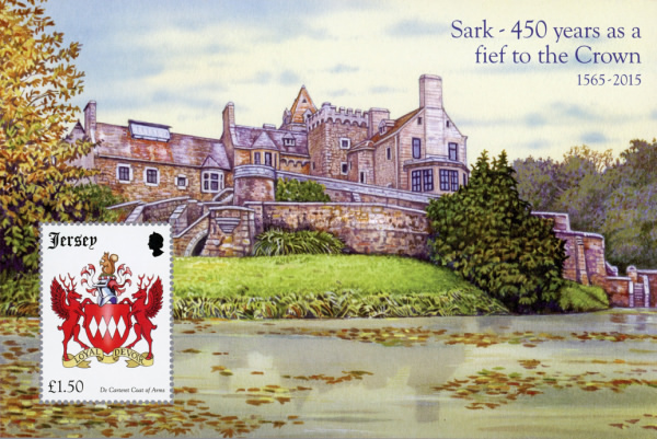 [The 450th Anniversary of the Channel Island of Sark as a Fief to the Crown, Typ ]