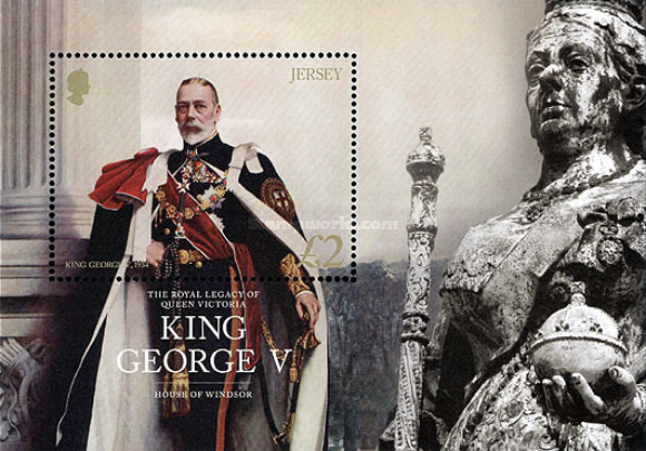 [The Royal Legacy of Queen Victoria – King George V, type ]
