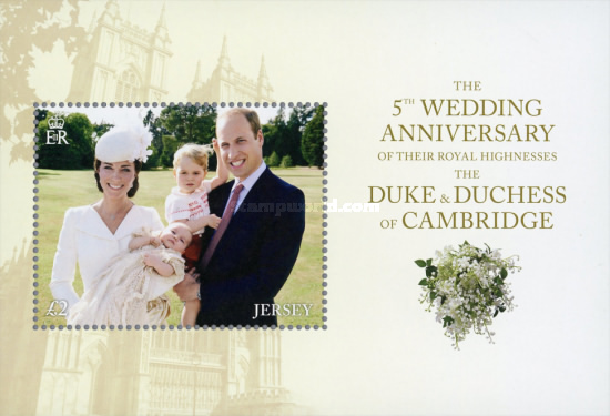[The 5th Anniversary of the Wedding of The Duke & Duchess of Cambridge, Typ ]