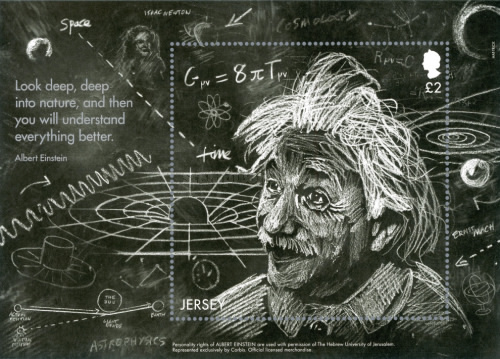 [The 100th Anniversary of the Theory of Relativity by Albert Einstein, 1879-1955, Typ ]