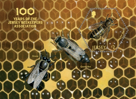 [The 100th Anniversary of the Jersey Beekeepers Association, Typ ]