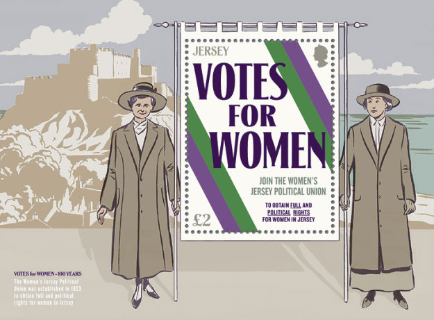 [The 100th Anniversary of Women's Suffrage, Typ ]