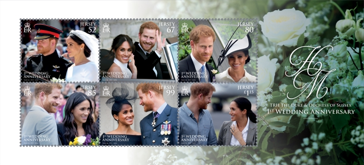 [The 1st Anniversary of the Wedding of Prince Harry and Meghan Markle, Typ ]