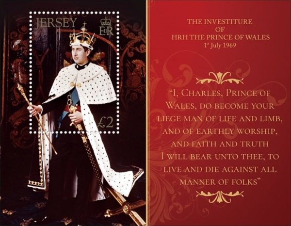 [The 50th Anniversary of the Investiture of HRH Prince of Wales, Typ ]