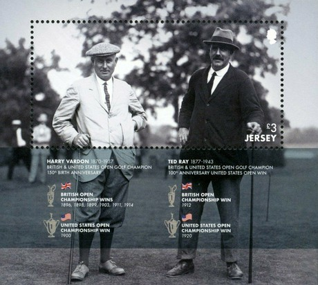 [The 150th Anniversary of the Birth of Harry Vardon, 1870-1937, Typ ]