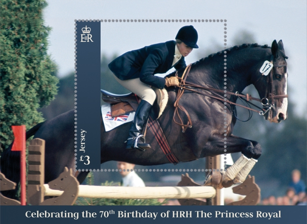 [The 70th Anniversary of the Birth of HRH The Princess Royal, Typ ]