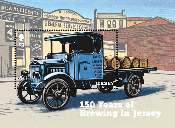 [The 150th Anniversary of Brewing in Jersey, type ]