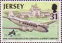 [The 60th Anniversary Of The Opening of Jersey Airport, type ABS]