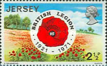 [The 50th Anniversary of the British Legion, Typ AD]