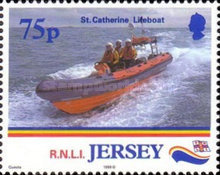 [Lifeboats - The 175th Anniversary of the Royal National Lifesaving Organisation, type AFH]