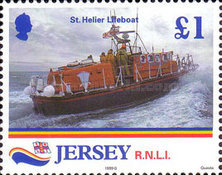 [Lifeboats - The 175th Anniversary of the Royal National Lifesaving Organisation, type AFI]