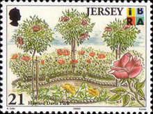 [EUROPA Stamps - Nature Reserves and Parks - Parks of Jersey, type AFU]