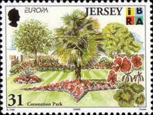 [EUROPA Stamps - Nature Reserves and Parks - Parks of Jersey, Typ AFW]