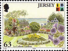 [EUROPA Stamps - Nature Reserves and Parks - Parks of Jersey, type AFX]