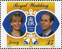 [The Anniversary of Prince Edward and Sophie Rhys-Jones, type AFY]