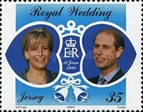 [The Anniversary of Prince Edward and Sophie Rhys-Jones, type AFZ]