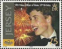[The 18th Anniversary of the Birth of Prince William, type AIG]