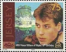[The 18th Anniversary of the Birth of Prince William, type AIH]