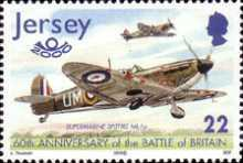[The 60th Anniversary of the Battle of Britain - Airplanes, type AIK]