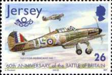 [The 60th Anniversary of the Battle of Britain - Airplanes, Typ AIL]