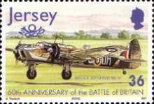 [The 60th Anniversary of the Battle of Britain - Airplanes, type AIM]