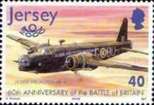 [The 60th Anniversary of the Battle of Britain - Airplanes, type AIN]