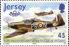 [The 60th Anniversary of the Battle of Britain - Airplanes, type AIO]