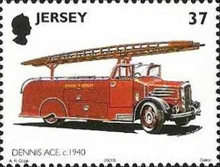[The 100th Anniversary of the St. Helier Fire Department - Fire Engines, Typ AKF]