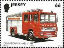 [The 100th Anniversary of the St. Helier Fire Department - Fire Engines, Typ AKI]