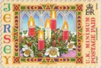 [Christmas - Self-Adhesive Stamps, Typ AQR]
