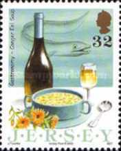 [EUROPA Stamps - Gastronomy - Jersey Dishes, Typ ARA]