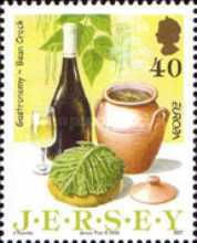 [EUROPA Stamps - Gastronomy - Jersey Dishes, Typ ARC]