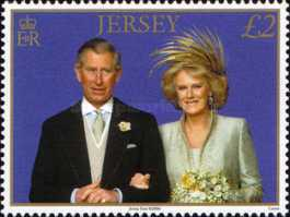 [The 1st Anniversary of Prince Charles and Camilla Parker-Bowles, Typ ATE]