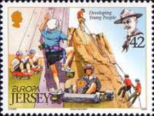 [EUROPA Stamps - The 100th Anniversary of Scouting, Typ AUN]