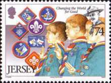 [EUROPA Stamps - The 100th Anniversary of Scouting, Typ AUO]