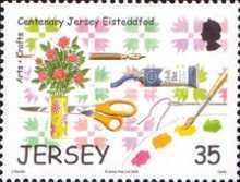 [The 100th Anniversary of Jersey Eisteddfod - Art Festival, Typ AWX]